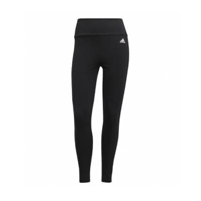 adidas 緊身褲 High-Rise Tights 運動 女款 愛迪達 三線 內搭 健身 重訓 路跑 黑 白 GL4040