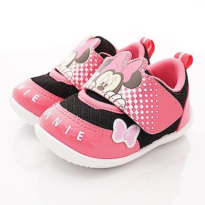 迪士尼童鞋 米妮透氣運動鞋款 ON19356黑桃(寶寶段)