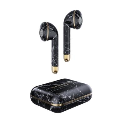 Happy Plugs Air 1 真無線藍牙耳機 限定色 四款-大理石黑