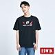 EDWIN 鐵金剛聯名款 駕駛員短袖T恤-男-黑色 product thumbnail 1