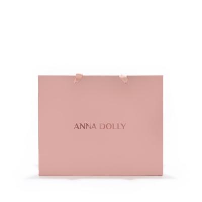 ANNA DOLLY 玫瑰燙金禮品提袋 #中
