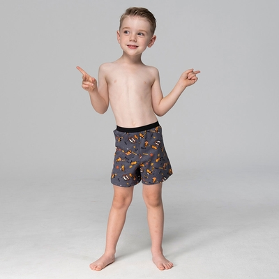 DADADO-好事花生 140-160男童內褲(灰) 品牌推薦-舒適寬鬆