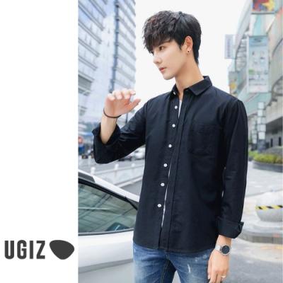 [時時樂]UGIZ-型男休閒百搭襯衫-2款(M-3XL)