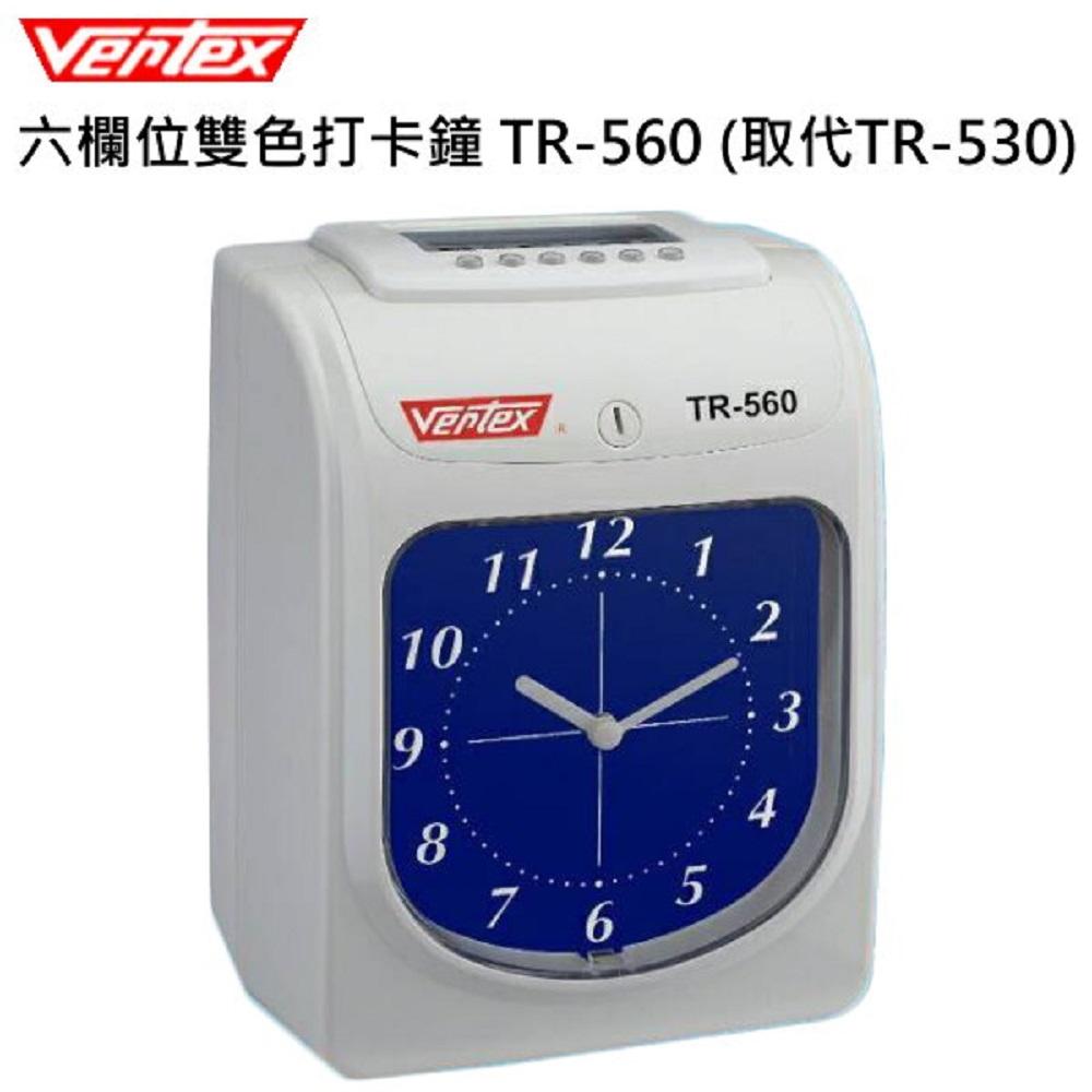 世尚VERTEX六欄位微電腦雙色打卡鐘TR-560 @ Y!購物