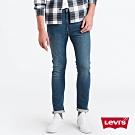 Levis 男款 510 緊身窄管牛仔褲 復古淺藍 彈性布料