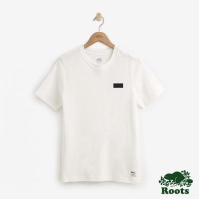 男裝Roots-網眼布短袖T恤-白