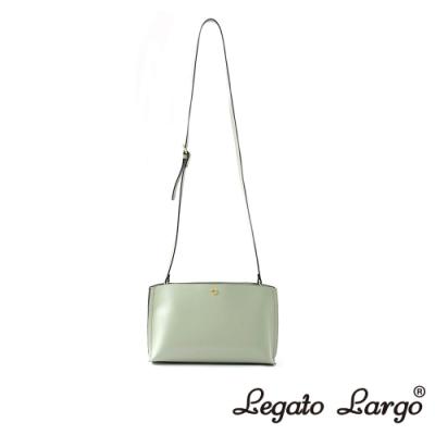 Legato Largo 驚異的輕量化 小法式輕便簡約 斜背小方包 薄荷綠