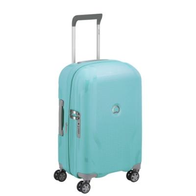 【DELSEY】CLAVEL-19吋旅行箱-藍綠色 00384580122
