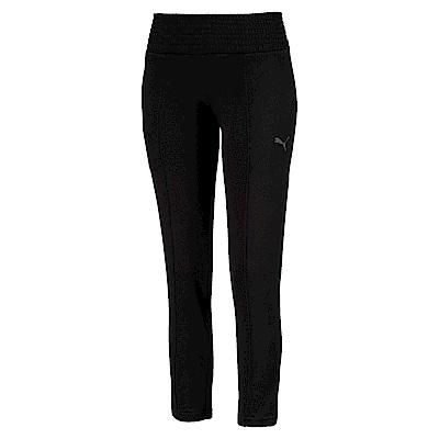 PUMA-女性法拉利經典系列束口棉質長褲-黑色-歐規