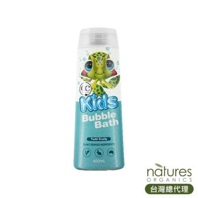 澳洲Natures Organics 植粹兒童泡泡沐浴露(藍-滋潤型)(小海龜)Bubble 400ml