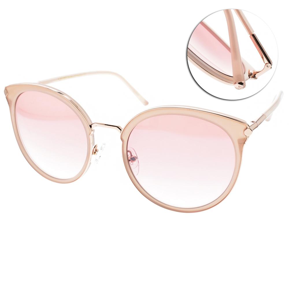 CARIN太陽眼鏡 秀智代言 韓系俏皮貓眼款/粉金 #VICTORIA C2