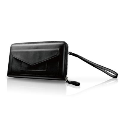 LIEVO-旅行手機皮夾_率性黑(5.7吋螢幕以下手機皆適用)