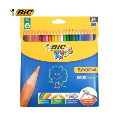 BIC 24色強化版色鉛筆