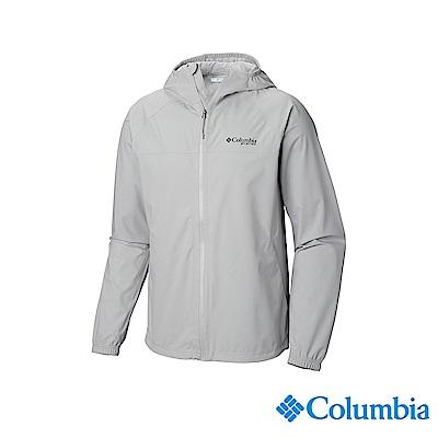 Columbia 哥倫比亞 男款-OT防水外套-灰色 UFM00660GY