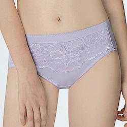 曼黛瑪璉 包覆提托經典  中腰三角內褲(薰草紫)