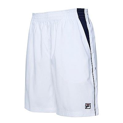 FILA 男運動短褲-白 1SHS-1014-WT
