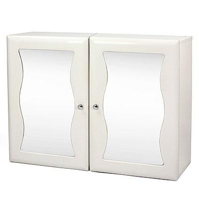 Aaronation 安全防爆玻璃浴鏡/雙門鏡櫃 -GU-C1010WAX2
