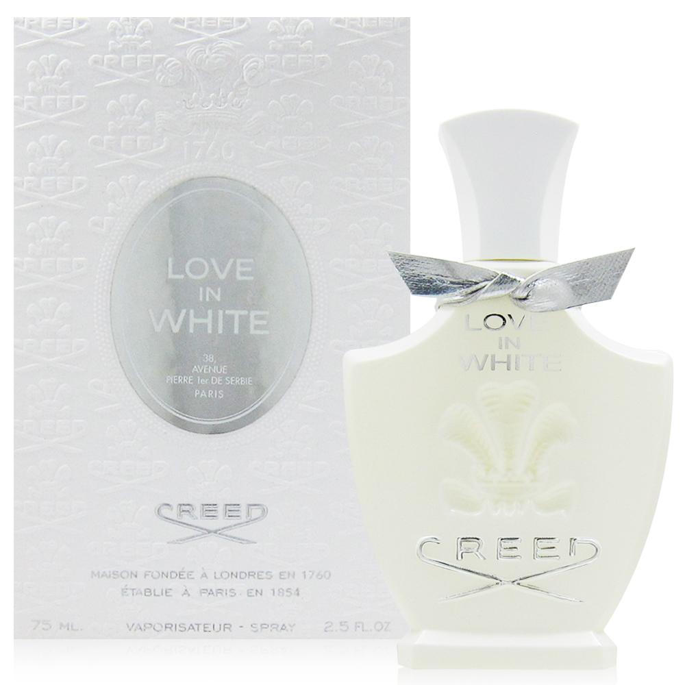 CREED LOVE IN WHITE 暮光女性淡香精 75ml (法國進口)