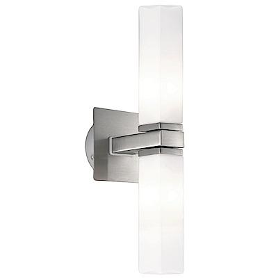EGLO歐風燈飾 現代雙色LED美型壁燈