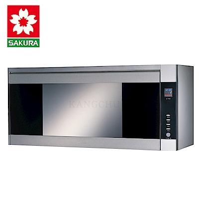 櫻花牌 Q7580ASXL 不鏽鋼碗筷架90cm臭氧紫外線雙效型懸掛式烘碗機