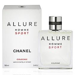 CHANEL Allure Homme Sport 男性運動清新古龍水100ml