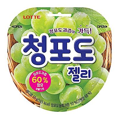 Lotte樂天 青葡萄Q糖(50g)