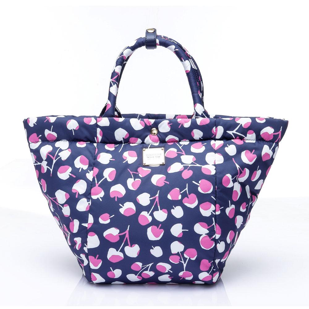 VOVAROVA空氣包-造型百變托特包-Cherrypicks(Indigo&pink)