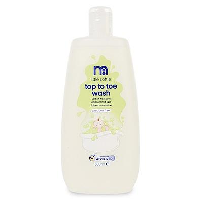 mothercare 嬰兒洗髮沐浴露 500ml