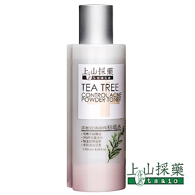 上山採藥-茶樹控油調理粉痘水 180ml