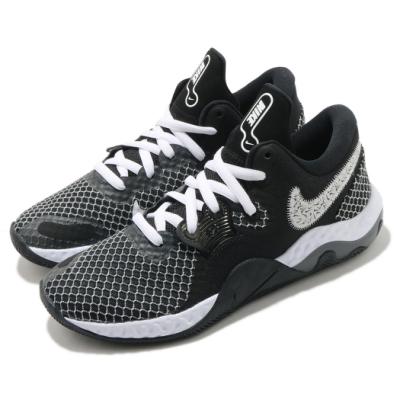 Nike 籃球鞋 Renew Elevate II 男鞋  輕量 舒適 支撐 避震 包覆 球鞋 黑 白 CW3406004