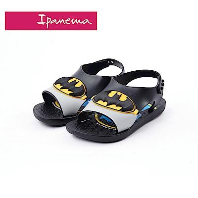 IPANEMA 正義聯盟聯名款 蝙蝠俠涼鞋(寶寶款)-黑