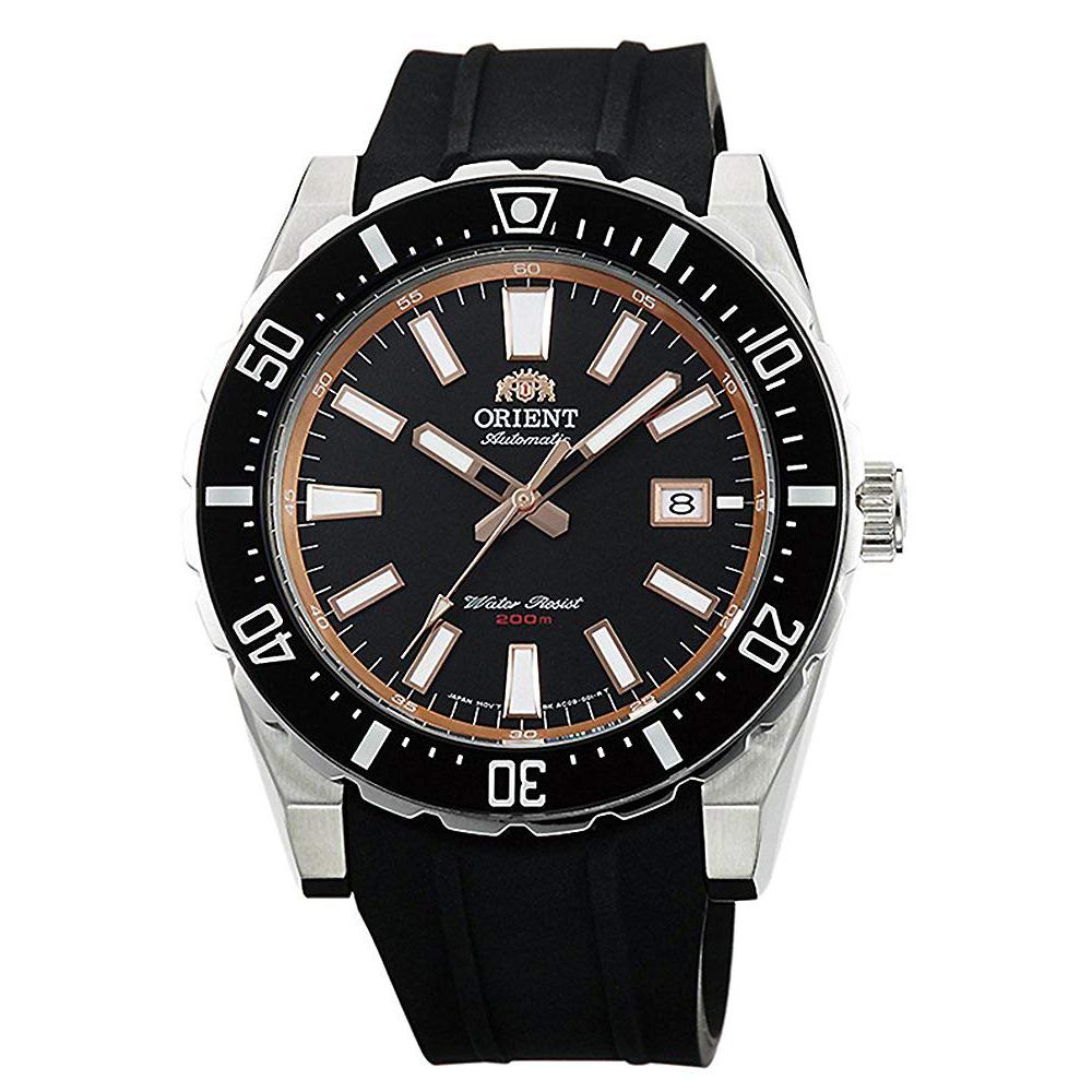 ORIENT  極限強悍自動上鍊機械運動腕錶(FAC09003B0)-黑x46mm