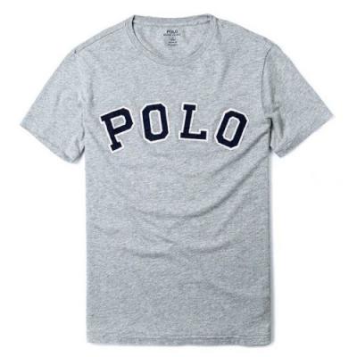 Polo Ralph Lauren 年度熱銷印刷文字系列短袖T恤-灰色