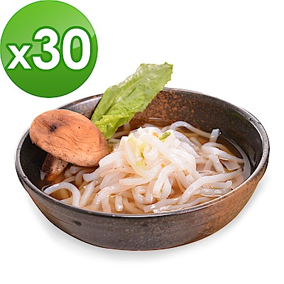 樂活e棧 低卡蒟蒻麵 原味烏龍+濃湯(共30份)