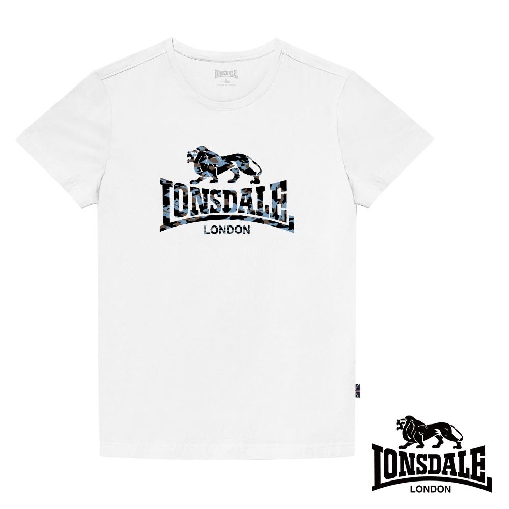 【LONSDALE 英國小獅】迷彩LOGO短袖T恤-LT004/LT005