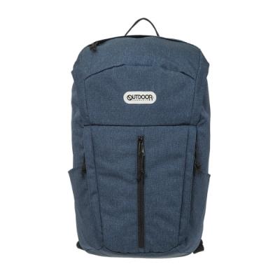 【OUTDOOR】風格前線-15.6吋筆電後背包-靛藍色 OD101109IO