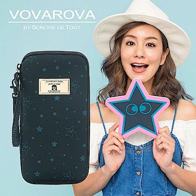 VOVAROVA x 莎莎-環遊世界護照夾-滿天星莎-環遊世界系列
