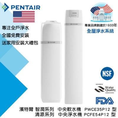 PENTAIR 超濾淨水組合(智潤中央軟水機(大型)+清源中央淨水機(大型))