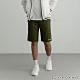 GIORDANO 男裝素色針織短褲 - 63 森林綠 product thumbnail 1