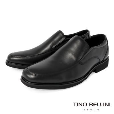 TINO BELLINI 牛皮經典正裝直套式紳士鞋