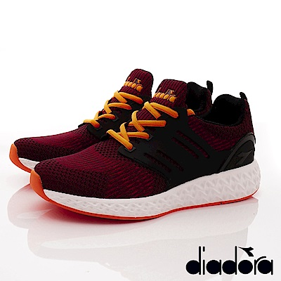 DIADORA-針織彈力跑鞋款 SI882紅(男段)