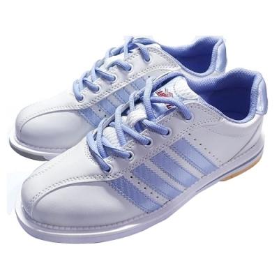 【DJ80嚴選】LANEWOLF 新式樣2.0仿真皮女用高級保齡球鞋-右手鞋(白色)