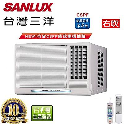 台灣三洋SANLUX 4-6坪窗型定頻右吹式SA-R28FE
