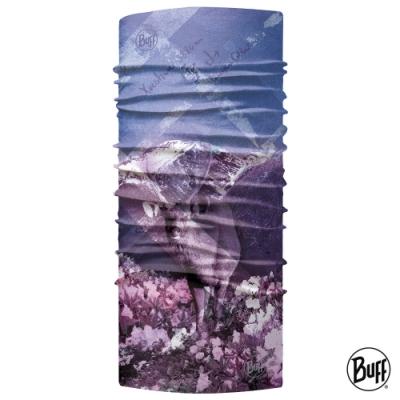 【西班牙BUFF】Coolnet抗UV頭巾-台灣系列-雪山