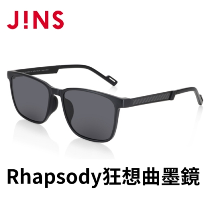 JINS Rhapsody 狂想曲BLACK ADVENTURE墨鏡(AMRF21S041)黑色