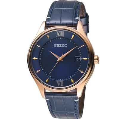 SEIKO SPIRIT 曼哈頓戀習曲太陽能鈦金屬腕錶(SBPX116J)40mm
