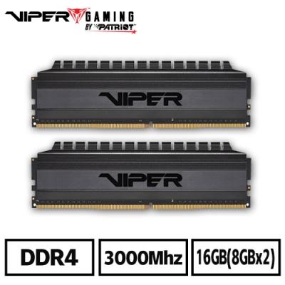VIPER美商博帝 VB4 DDR4 3000 16GB(2x8G)桌上型記憶體