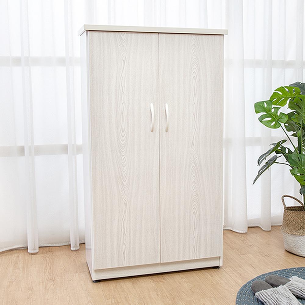 Boden-防潮防蛀 防水塑鋼2.2尺上掀收納二門鞋櫃(雪松)