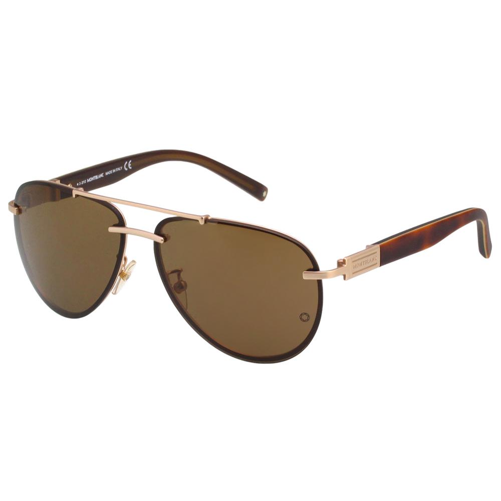 萬寶龍 MONTBLANC-太陽眼鏡(金色)MB404S