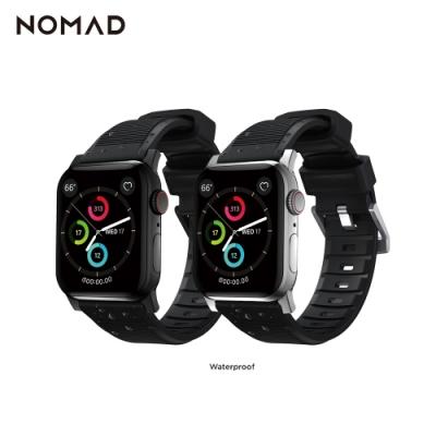 美國NOMAD Apple Watch專用高性能橡膠質感錶帶-42/44mm
